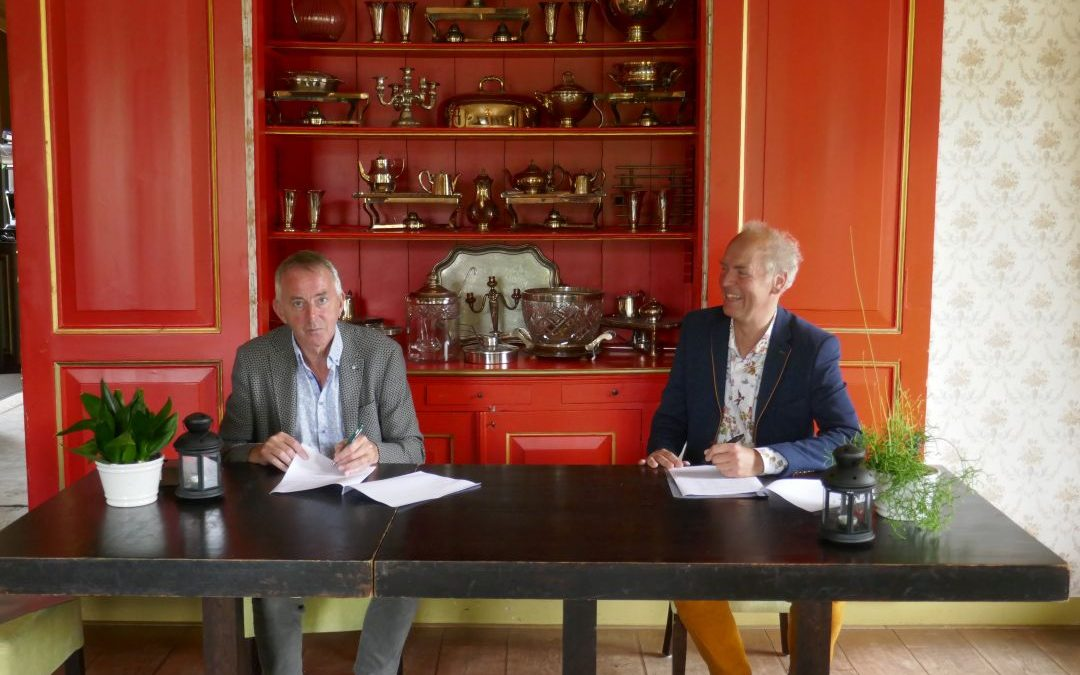Jacob Veenema en Geert Pruiksma