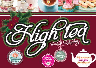 26 december 2020 – High Tea