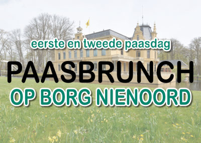 GEANNULEERD -12 en 13 april 2020 – Paasbrunch